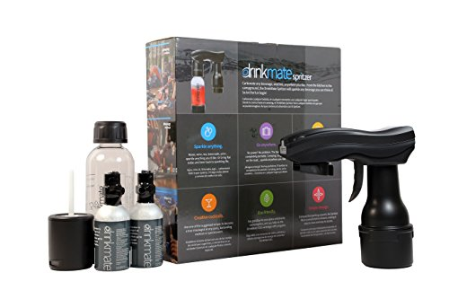 Drinkmate-Spritzer Any Beverage Carbonation Maker - (Black)
