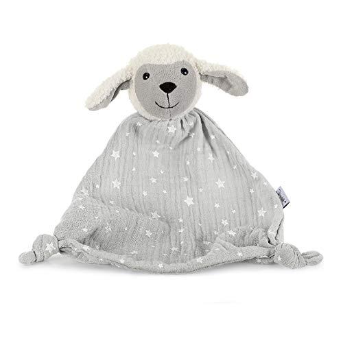 Sterntaler Coffret Cadeau Stanley le Mouton, Âge : Pour les Bébés Dès le 1er Mois, Taille : 30 cm, Couleur : Gris/Blanc