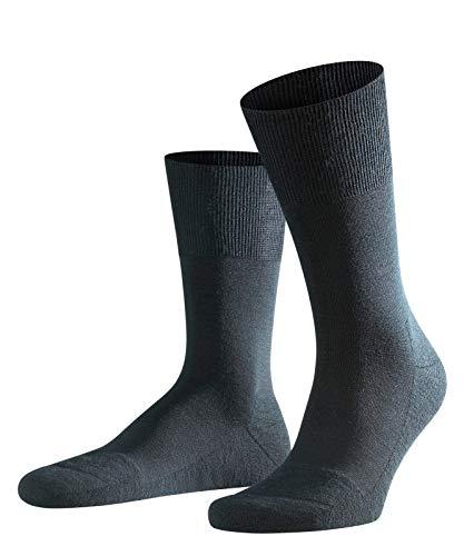 FALKE Herren Airport Plus M SO Socken, Blickdicht, Schwarz (Black 3000), 39-40