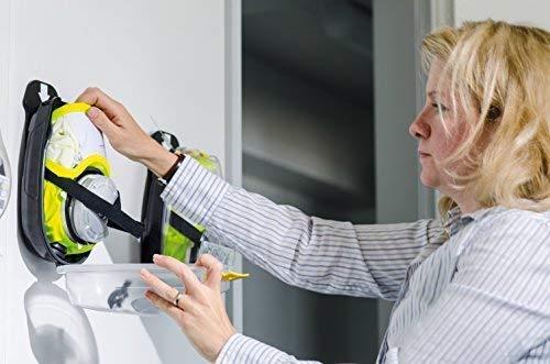 Dräger 5530 Parat Brand-Fluchthaube im robusten Hard Case | Effektive Rettungshaube zum Schutz vor Brandgasen, Kohlenmonoxid (CO) - 4