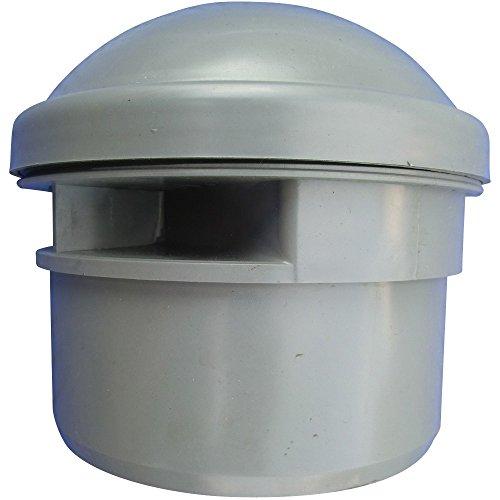 Rohrbelüfter Belüftungsventil für Sanitäranlagen DN 50, grau