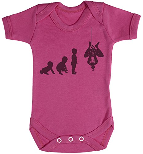 Baby Evolution to A Spider Man Body bébé - Gilet bébé - Body bébé Ensemble-Cadeau - Naissance Rose