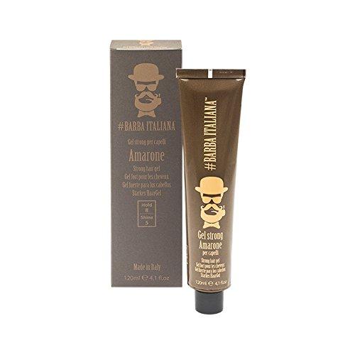 Barba Italiana Gel Strong per capelli Amarone 120ml - Gel fijación fuerte para cabello
