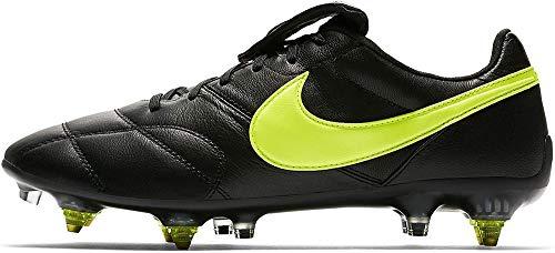 Nike The Premier II SG-Pro AC, Zapatillas de Fútbol Hombre, Negro (Black/Volt/Black...