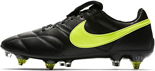 Nike The Premier II SG-Pro AC, Zapatillas de Fútbol Hombre, Negro (Black/Volt/Black 001), 42 EU
