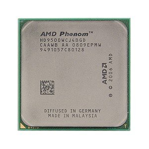 AMD Phenom X4 9500 - Procesador (AMD Phenom, 2,2 GHz, Socket AM3, 65 NM, 64 bits, 2 MB)