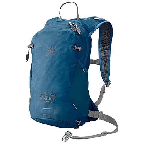 Jack Wolfskin Ham Rock 12 - Mochila de senderismo y correr, color azul