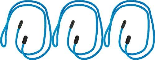 GoGrip GoGrip Brillenband - VALUE PACK - Brillenbänder, Halter-Bügel, Seil Brillen Halter, Brillen Halte System 3/6 Stück (Blaugrün x 3)