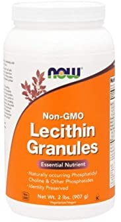 Now Foods Lecithin Granules, 2 lb ( Multi-Pack)