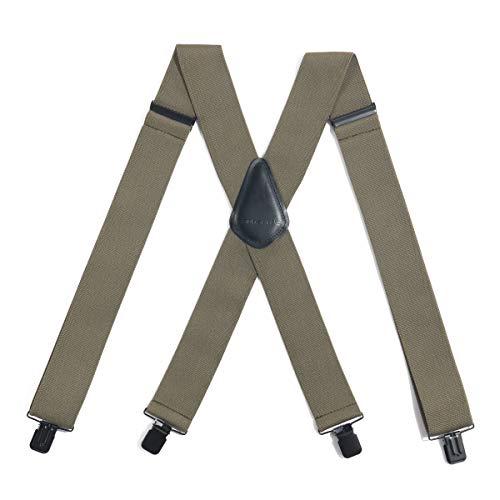 Carhartt Utility Rugged Flex Suspender, Army Green, One Size