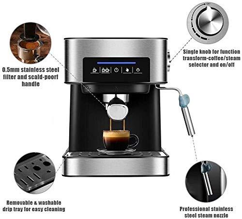 Automatic Bean to Cup Coffee Machine Espresso Cappuccino Coffee Maker Machine Home Office 20 Bar Pump Fancy Milk Foam…