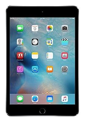 Apple iPad Mini 4 64GB 4G - Space Grey - Unlocked (Renewed)