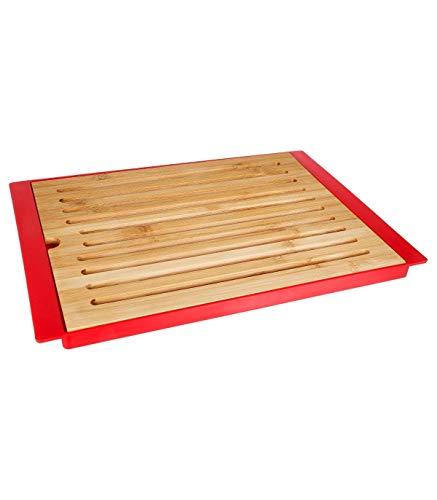 Secret de Gourmet - Planche à pain en bambou + plateau