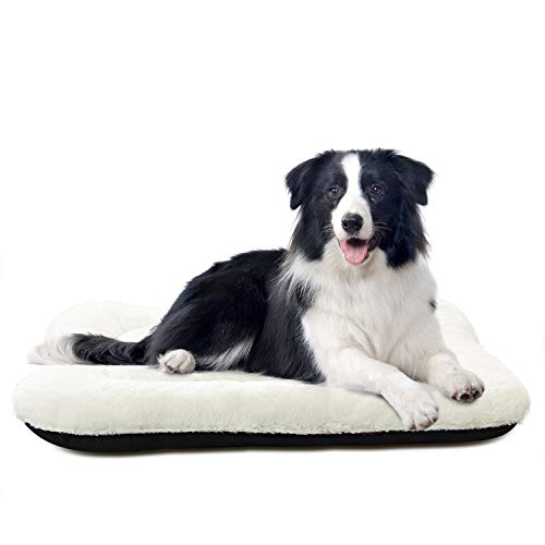 ANWA Dog Crate Bed Large Washable Crate Pad Dog Cushion Big Dog 36 INCH