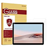 [2 Pack] Surface Go 2 Screen Protector, OMOTON 9H Hardness HD Tempered Glass Screen Protector for Microsoft Surface Go 2 10.5 inch (2020 Released) / Surface Go 10 inch (2018 Released)