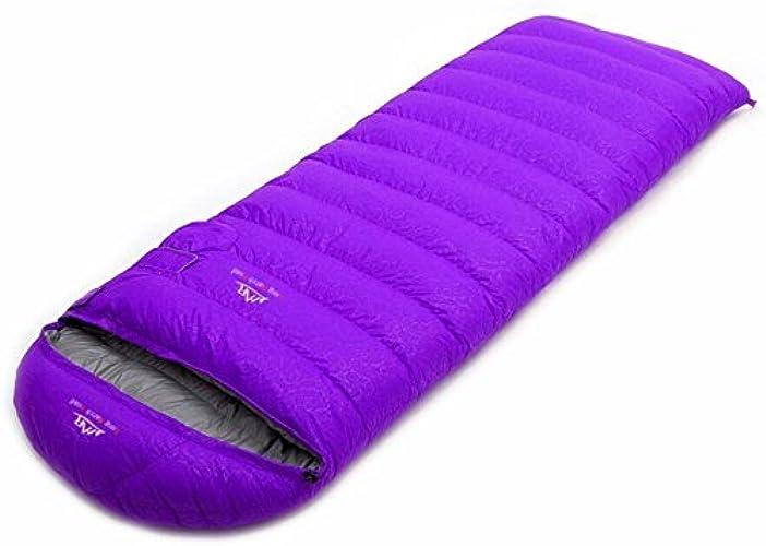 TTYY Sac de couchage Hiver épaissie super léger voyage de camping en plein air portable