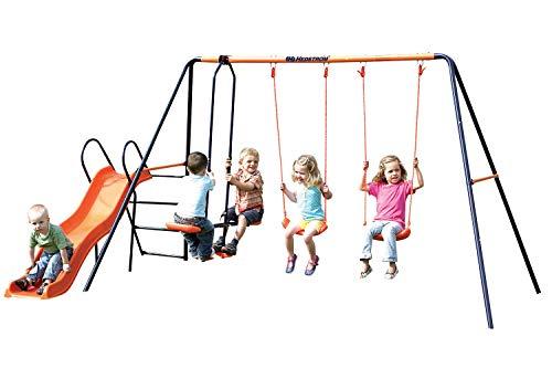 Childrens Garden Swing and Slide Set Headstrom Europa Outdoor Swing