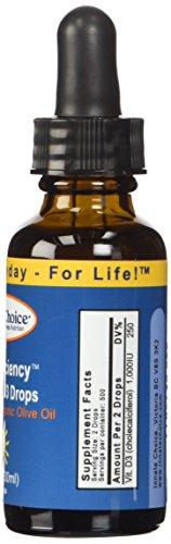 Innate Choice D Sufficiency Liquid Vitamin D3, 1 Fluid Ounce