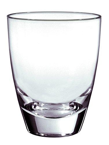 Borgonovo Alpi Juego de 6 Vasos de Vidrio de Highball, 355 ml