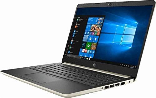 "2019 HP 14, 14"" HD Thin & Light Flagship Laptop Computer, 7th Gen Intel Core i3-7100U 2.40GHz, 4GB DDR4 RAM, 128GB SSD, WiFi, Bluetooth, USB 3.1 Type-C, HDMI, Stereo Speakers, Windows 10"