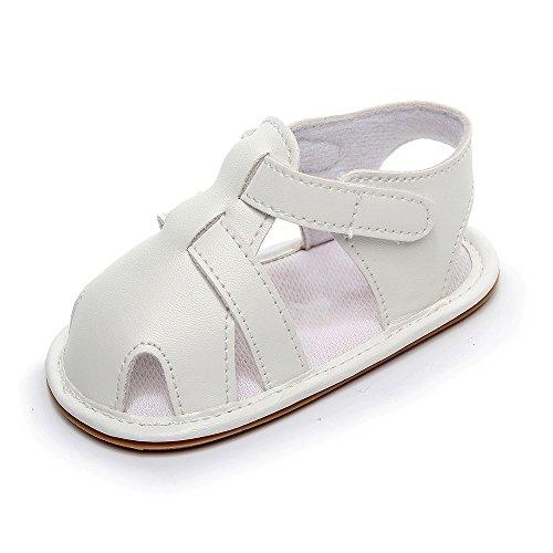 ZORE Zapatos De Bebe Bebés Bebés Niños Niñas Cuero Suela Romana Zapatos Verano Sandalias Primeros Caminantes