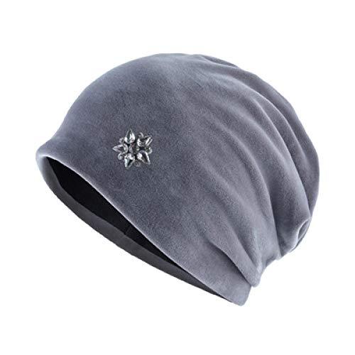 Damen Mütze Strickmützen für Damen Damen Winterhüte Warmer Strass Damen...