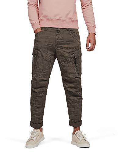 G-STAR RAW Roxic Tapered Cargo Pantaloni, Verde (Asfalt 4893-995), W31/L32 (Taglia Produttore: 31W / 32L) Uomo
