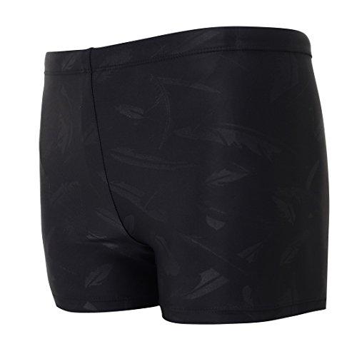 Vocni Bañador corto de compresión de secado rápido para hombre Negro Black_03 US M - Asian Tag 2XL(Waist:31' - 35')