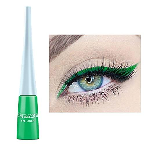 CHOSMO Liner Color Impermeable Delineador maquillaje Delineador de ojos Lápiz impermeable Ojos Altamente pigmentados Impermeable Fuerte adhesión