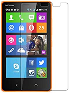Nillkin Nillkin Nokia X2 Super Clear Anti-Fingerprint Protective Film - Carrying Case - Retail Packaging - Clear