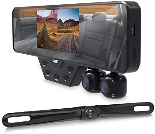 Top 10 Best falcon zero f360 hd car rear-view mirror dash cam with 2 built-in cameras Reviews