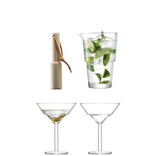 LSA International Mixologist Cocktail Duo Set, 25 x 19.4 x 25.4 cm