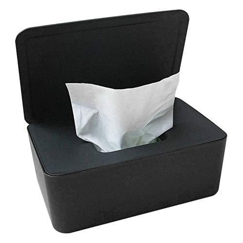 Feuchttücher Box,Feuchtes Toilettenpapier Box, Feuchttücherbox Weiß, Toilettenpapier Box, Kunststoff Feuchttücher Spender,Baby Feuchttücherbox,Baby Tücher Fall