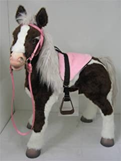Party Ponies Butterscotch S'Mores Interactive Horse Saddle Set - Pink! Horse not Included