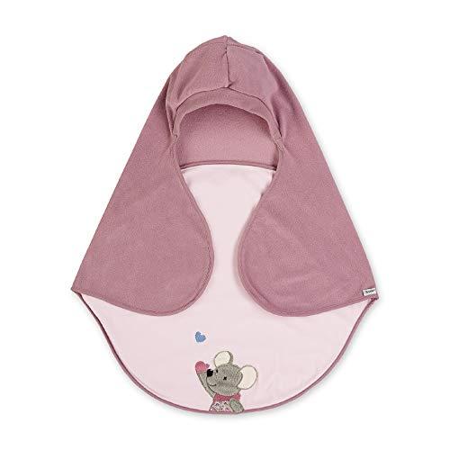 Sterntaler Einschlagdecke, Maus Mabel, Alter: Für Babys ab der Geburt, 75 x 90 cm, Rosa/Mehrfarbig