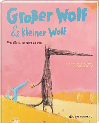 Großer Wolf & kleiner Wolf - Vom Glück, zu zweit zu sein: Midi-Ausgabe (Tapa dura)