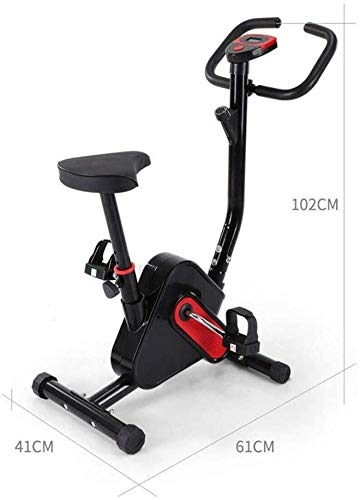 JFZCBXD Indoor Cycling Bike Excrise Bikes Stationary Indoor Fitness Fahrrad Upright Bike-Serie Indoor Heimtrainer mit Easy Adjustable Seat