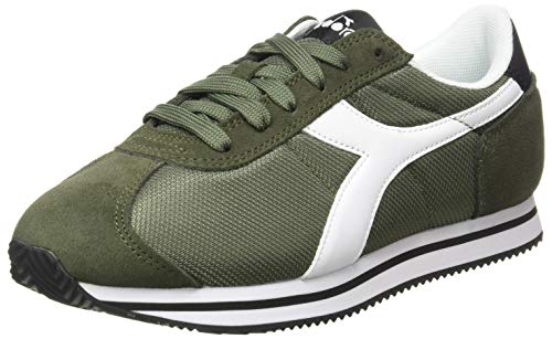 Diadora Herren Vega Sneakers, Grape Leaf/White, 43 EU