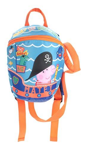 Peppa Pig George Rocco Reins Rucksack Travel Backpack Bag, School Bag, Sports Bag, Range Bag. Look George We've Found The Treasure!
