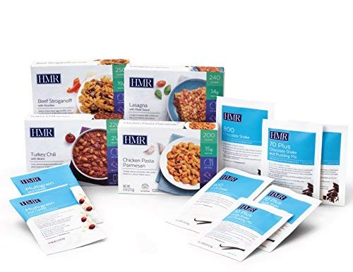 HMR Quick Control Kit - 12 Meals (6 Shakes, 2 Cereal, 4 Entrees)