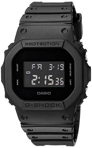 Casio CASIO G-Shock G Shocky Shock Solid Colors DW-5600BB-1 Overseas Model reloj de colores sólidos para hombre con sobre el modelo negro Japón