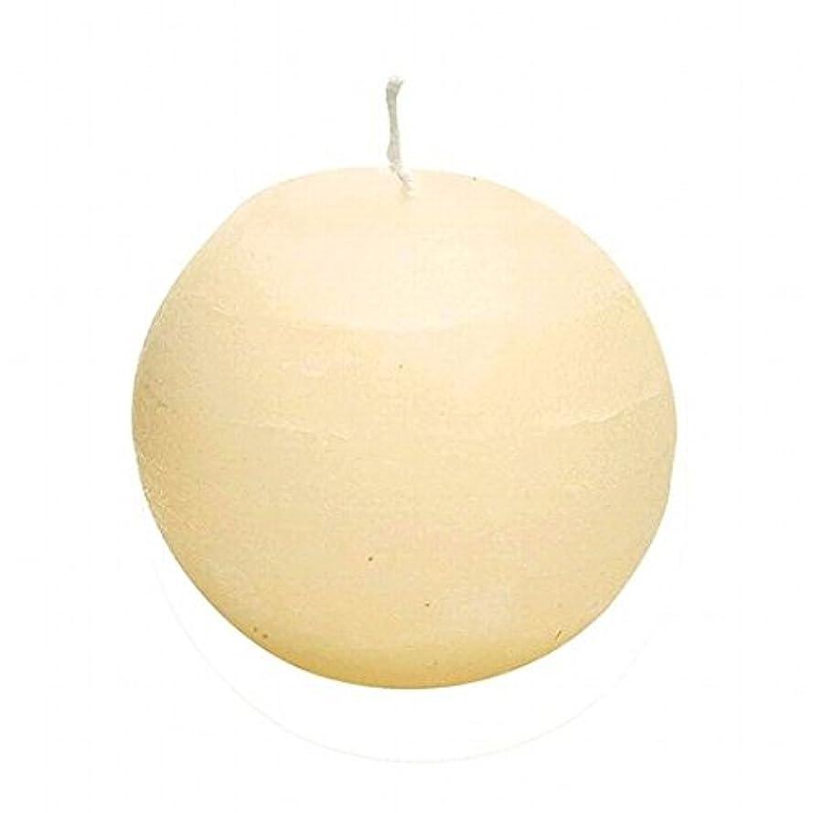 センサー次蒸発するヤンキーキャンドル(YANKEE CANDLE) ラスティクボール80 「 アイボリー 」