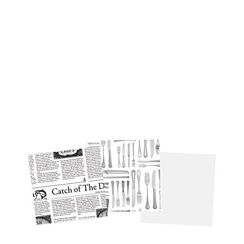 """Utopía presentación documentos ct8007–000000-b01001Plain papel parafinado, 6""""(Pack de 1)"""