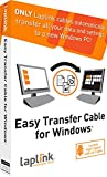 Image of Laplink Easy Transfer Cable | Includes PCmover Migration Software and USB 2.0 Cable | Single Use License | Migrates Files and Settings