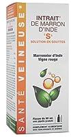 Action de veinotoniques combinés Favorise le retour veineux Active la microcirculation Flacon de 90 ml avec pipette graduée Complément alimentaire CODE ACL N° 6022970