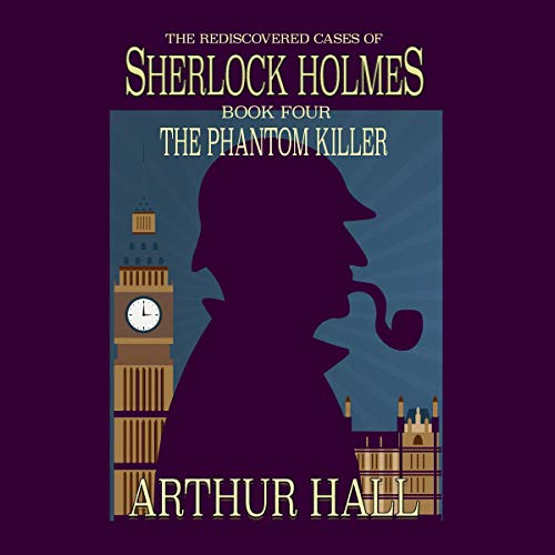 The Phantom Killer audiobook cover art