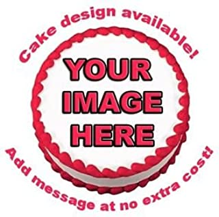 Create Your Own Custom Edible Cake Image Topper 7.5