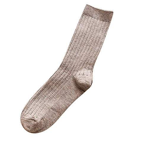 IFOUNDYOU Wintersocken für Herren, Vertikale Leiste Warm bleiben Socken Herren Wintersocken Wollmischung Socken Heiße Handtücher Atmungsaktiv Komfortable Sportsocken