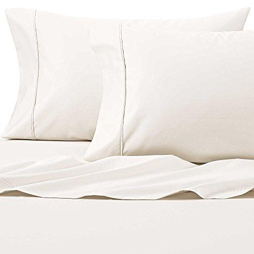 Wamsutta 625-Thread Count PimaCott Queen Sheet Set in Ivory