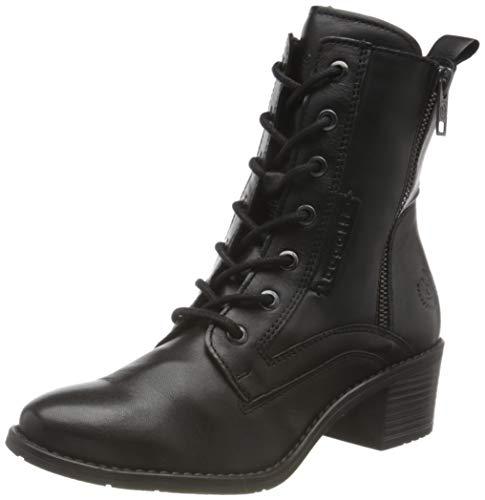 bugatti Damen 4115623I4000 Stiefelette, schwarz, 39 EU